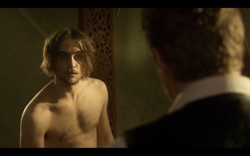 Landon Liboiron shirtless