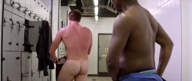 James Murray Naked in Cucumber