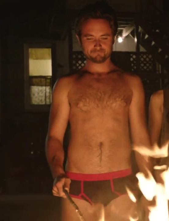 Justin Chatwin Shirtless