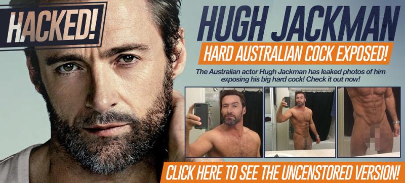 Hugh Jackman Naked Selfie Scandal