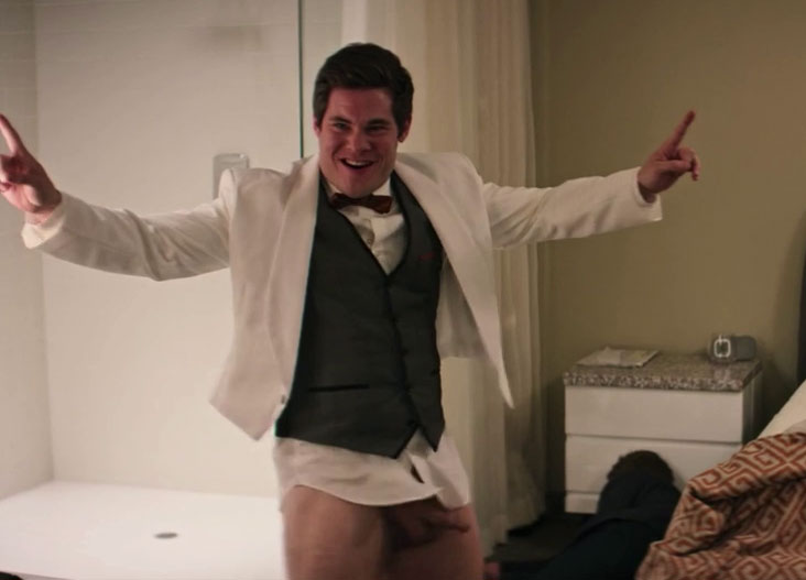 Adam DeVine Fully Nude in Game Over  Man