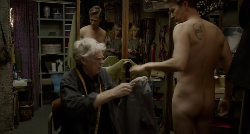 Ed Norton Naked in Birdman2