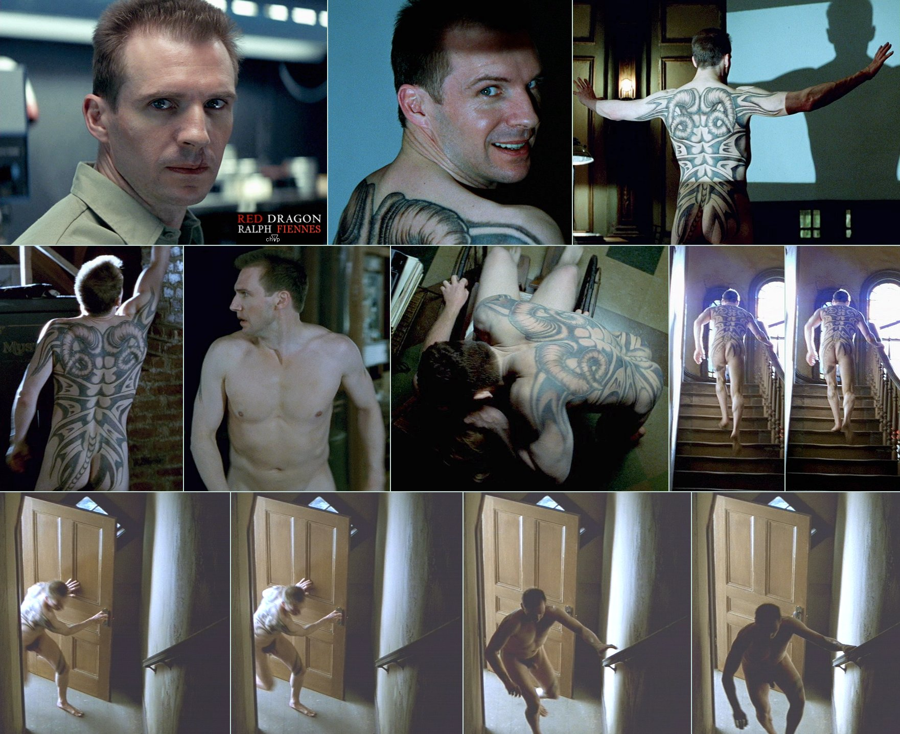 Ralph Fiennes Naked in Red Dragon