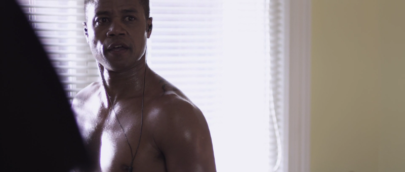 Cuba Gooding Jr. Naked in the movie Sacrifice