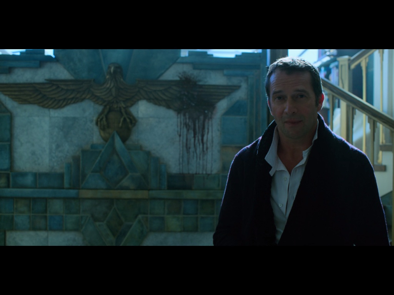 James Purefoy Naked in Altered Carbon